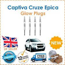 For Chevrolet Captiva Cruze Epica Nubira Four Glow Plugs Set NEW