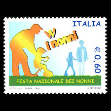 Italy 2007 - National Day of Grandparents - Sc 2837 MNH