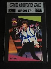 HUEY LEWIS 1991 PRO SET SIGNED AUTOGRAPHED CARD #63 MUSIC LEGEND CAS AUTHENTIC