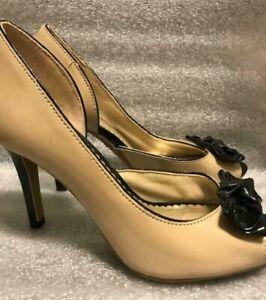 FIONI 180133 WW DAZIE Open Toe Women/'s Heels Shoes Size 7W NWB