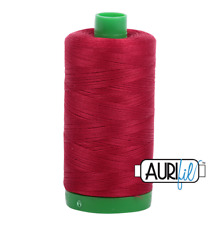 Aurifil Cotton Quilting Thread 40wt - 1000m - 2260 - Wine