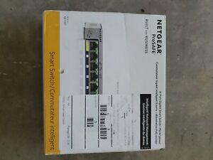Netgear GS108T  8-Port Gigabit Smart Managed Switch