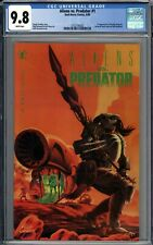 Aliens vs. Predator #1 CGC 9.8 NM/MT 1st Appearance of Machiko Noguchi WHITE