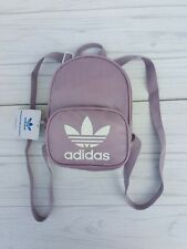 Classic Adidas Original Santiago Mini Backpack Lavender White Casual Sport