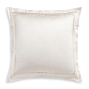 Hudson Park EURO Pillow Sham Luxe Frame Ivory 283