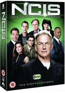 NCIS COMPLETE SERIES 8 DVD 8th Eighth Season Eight Original UK Release R2 - New