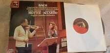 BACH CONCERTO FOR TWO VIOLINS MUTTER AND ACCARDO ASD 1435201 LP