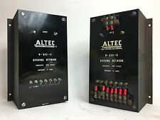 EARLY Altec Lansing N-800-D 12-Ohm Theater Crossover Networks for 800, 820a RARE