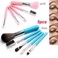 5Pcs New Pro Makeup Brush Set Eyeshadow Cosmetic Tools Face Powder Blush Brushes