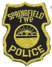 Springfield Township OHIO OH Police patch OLD