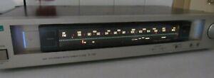 Sansui AM/FM T-707 Stereo Tuner Motorized Dial Japan Needs Repair Motor Runs