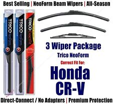 3-Pack Wipers Front & Rear - NeoForm - fit 2002-2006 Honda CR-V  16210/200/10-1