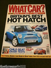WHAT CAR? - BRITAIN'S BEST HOT HATCH - JULY 2002