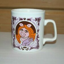 The Muppet Show Miss Piggy Coffee Cup Henson Assoc., Inc., 1978 Made in England