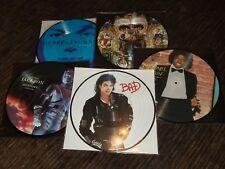 Machael Jackson 5 ( 8 ) New Picture Discs BAD invincible History Dangerous off +