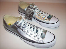 New CONVERSE ALL*STAR Unisex light blue metallic athletic shoes Womens Size 13