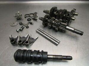 1985 Kawasaki KLT160 Transmission Gear Shift Drum Forks 13239-1104