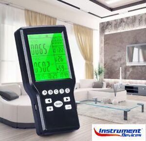4in1 Portable Air Quality Meter Formaldehyde TVOC Temp. Humidity  (Japan Sensor)