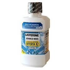 RAGSTORE -  COLLUTTORIO LISTERINE Pz 2 x 500 ml ADVANCED WHITE