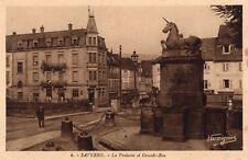 SAVERNE La Fontaine et Grande Rue