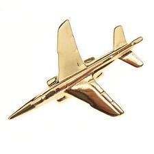 Alpha Jet Tie Pin - Gold Plated Tiepin Badge