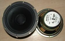 2 x Sony 1-554-475-21 5 inch 128mm  shielded magnet HiFi speaker 8 ohm 3J673 20W