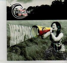 (DI454) The Cheek Of Her, Megaphonic EP - 2012 DJ CD