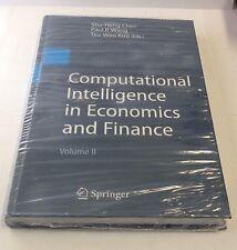 Computational Intelligence in Economics and Finance Volume II Hardcover Book