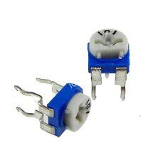 50pcs 220 ohm Trimpot Variable Resistor 6mm VR221 220R