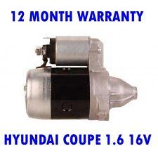 HYUNDAI COUPE 1.6 16V 2002 2003 2004 - 2009 STARTER MOTOR