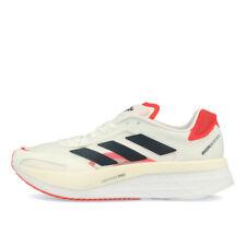 adidas Adizero Boston 10 W Damen White Black Solar Red Laufschuhe Weiß Schwarz