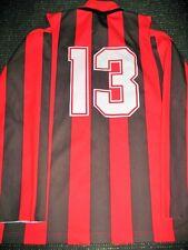 AC Milan Adidas MATCH WORN Jersey Maglia 1990 1991 Shirt Indossata Trikot L