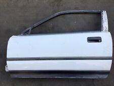 89-91 Honda CRX 2Dr Left Driver Side Vehicle Door Panel Car Entrance Lid White