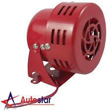 12V Red Electric Car Truck Motorcycle Driven Alarm Air Raid Siren Horn Loud 50s