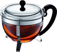 Bodum Chambord Tea Pot, Borosilicate Glass - 1.3 L, Shiny RRP £72