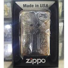 Zippo Credos Lighter Gold Bronze Genuine Case Pocket Windproof Made in USA