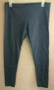 "Junior's Women's LC Lauren Conrad Size L- Gray Pull Up Stretch Pants 34"" x 27.5"""