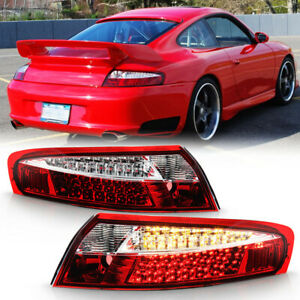 1999-2004 Porsche 911 996 Carrera 4 Lumileds LED Tail Lights Lamps 99-04