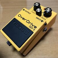 2007 BOSS OverDrive OD-3 Effects Pedals PSA model
