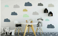 13 pcs Clouds Wall Sticker Removable Kid Decal Home Nursery Decor Gift Art Mural