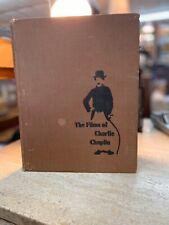 "New listing Vtg ""The Films of Charlie Chaplin"" Hardcover Photo Book 1965 Bonanza Books"