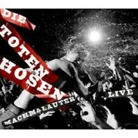 "DIE TOTEN HOSEN ""MACHMALAUTER LIVE"" 2 CD 37 TRACKS NEW"