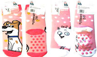 KIDS SOCK - GIRLS SLIPPER SOCKS - CHILDRENS GRIPPER SOCKS -NON SLIP SOCK