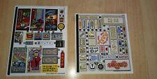 Lego 70620 - Ninjago - Ninjago City Sticker Sheet 1+2 * Neu*