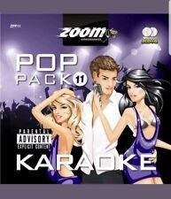ZOOM KARAOKE CDG  POP PACK 11  -  2 DISC SET CDG    2011    NEW & SEALED