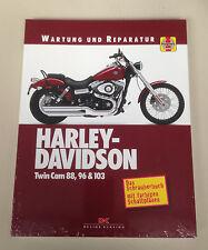 Reparaturanleitung Harley-Davidson Twin Cam 88, 96 & 103, Softail, Dyna-Glide !