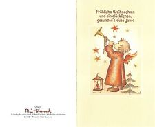 """Original Hummel Grußkarte mit Umschlag Ars sacra Verlag """"1219"""" unbeschrieben1980"""