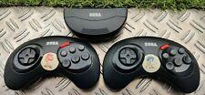 Manettes sans fil 6 Boutons Officielle pour Sega Mega Drive Récepteur Infrarouge