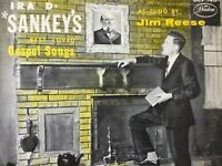 IRA SANKEY'S Best Loved Gospel Songs as sung by JIM REESE LP+bonus CD TESTED