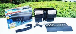 MARINELAND Pro Series Emperor 400 Filter System BIO-WHEEL POWER FILTER - Nice!